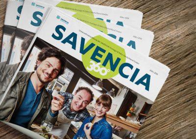 Unternehmenszeitschrift Savencia 360