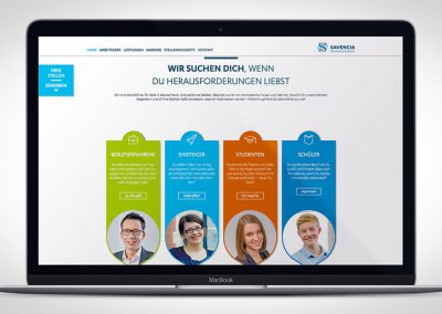 Unternehmenswebseite – Savencia Fromage and Dairy