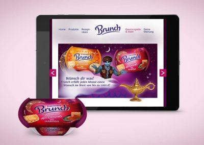 Markenwebseite – Brunch Brotaufstriche